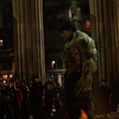 Hulk antes de abandonar a Elizabeth.