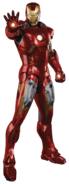 Iron Man Armor Mark VII (transparent)
