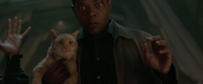 Nick Fury and Goose the (Mother)Flerken
