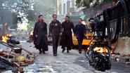 Strange, Stark, Wong & Banner (Infinity War BTS)
