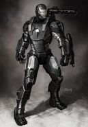 Iron Man 2 2010 concept art 11