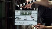The Incredible Hulk Clapboard