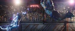 Thor Ragnarok-Hulk vs Thunder Thor