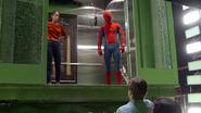 Washington Monument Elevator (Liz & Spider-Man - TW BTS)