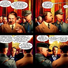 Schmidt se reúne con Hitler.