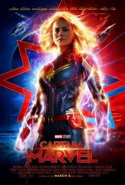 Captain Marvel - Póster Diciembre 2018