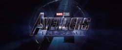Avengers Endgame Teaser Trailer Logo