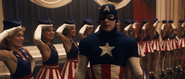 Captain America & Star-Spangled Dancers