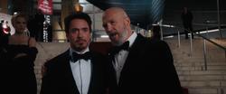 Tony Stark & Obadiah Stane