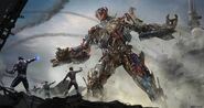 Ultron - Avengers-DamageControl - Concept Art