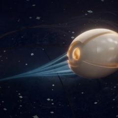 Ego abandona su planeta para explorar la galaxia.