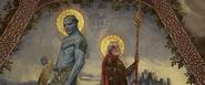 Laufey & Odin (Fresco)