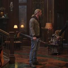 Loki opta por enfrentar a Strange.