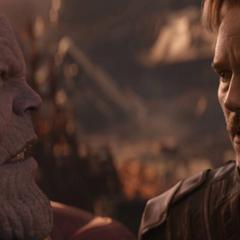 Thanos revela el destino de Gamora.