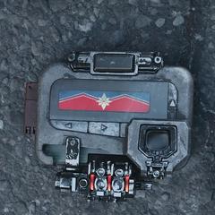 El transmisor de Fury envía una señal de auxilio para Carol Danvers.