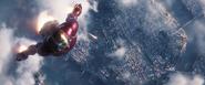 AIW - Iron Man Flies to Q-Ship