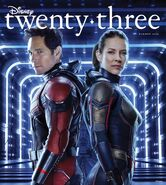 Ant-Man and the Wasp D23 Magazine Cover