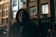 Mike Colter Luke Cage BTS 35