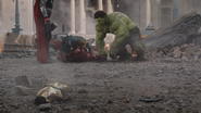 Thor, Captain America, Iron Man & Hulk