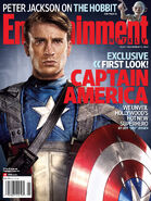 Entertainment Weekly Cover Captain America