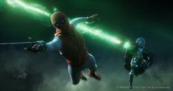 Spider-Man & Mysterio