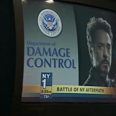 Stark invierte en el Departamento de Control de Daños.