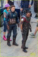 Civil War set photo 6