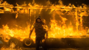 LCS2101 Luke Cage on Fire