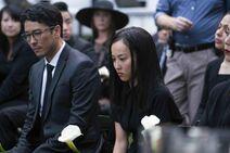 Robert and Nico Minoru - Amy Minoru's Funeral