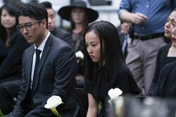 Robert and Nico Minoru - Amy Minoru's Funeral