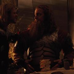 Volstagg es recultado para ir a Jotunheim.