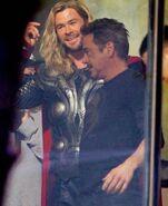 Avengers 1 Thor & Tony Stark (Avengers 4 BTS)