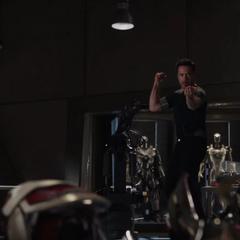 Stark a punto de poner a prueba el Mark XLII.