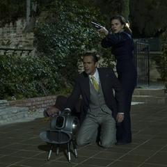 Carter y Jarvis infiltrados en el Rancho Chadwick.