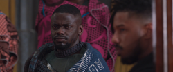 BP W'Kabi Listens to Killmonger