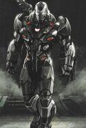 War Machine Avengers Endgame concept art 1