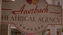 Вывеска Театрального агентства Ауэрбах