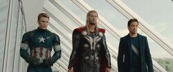 Avengers Age of Ultron Big Three