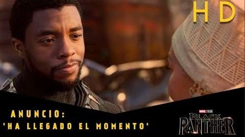Black Panther de Marvel Anuncio 'Ha llegado el momento' l HD