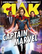 Captain Marvel Clak Cover