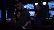 Daisy & Mack hug