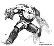 Iron Man 2008 concept art 26