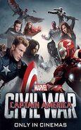 TeamCap x TeamStark Poster