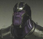 Warlord Thanos concept art 17
