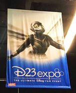 Ant-Man & The Wasp - Wasp Suit at D23 Expo