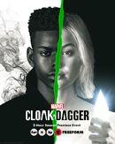 Manto e Adaga S2 - Poster