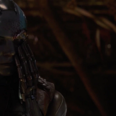 Nebula es testigo del asesinato de Thanos.