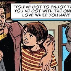 Barton regresa con su familia.