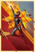 Captain Marvel Dolby Cinema Texless Poster
