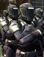 Enclave soldiers